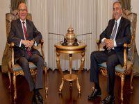 Cumhurbaşkanı, Mehmet Ali Talat'ı kabul etti