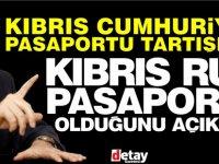 Tatar Kıbrıs Cumhuriyeti vatandaşlığı olduğunu söyledi