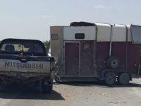 Trafik Kazası: Biri Çocuk Üç Kişi Yaralandı