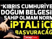 """Ersin Tatar:""""Şahsıma yönelik operasyon başlatıldı"""""""