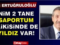 """Ertuğruloğlu: """"Benim iki pasaportum var, ikisinin üzerinde de ay yıldız var"""""""