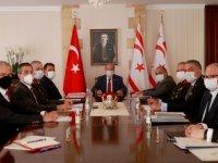 Üst Koordinasyon Kurulu, Cumhurbaşkanı Ersin Tatar'ın başkanlığında Cumhurbaşkanlığı'nda toplandı