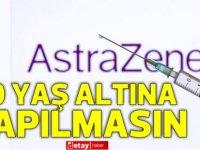 İngiltere'de '40 yaş altına AstraZeneca aşısı yapılmasın' tavsiyesi