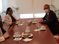 CTP heyeti ABD Büyükelçisi Judith Garber ile görüştü