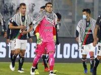 Deportivo Palestino'dan Filistin halkına destek