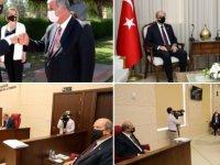 Cumhurbaşkanı Ersin Tatar, Meclis'i bilgilendiriyor