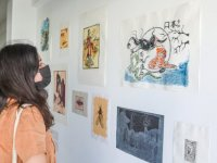 Arucad Öğrencilerinin Güz 2020 Dönem Sergisi Açıldı