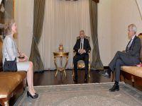 Cumhurbaşkanı, İsveç ve Finlandiya Büyükelçileri ile görüştü