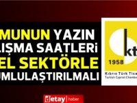 Kıbrıs Türk Ticaret Odası:Kamu yönetimi gerçek yaşama yabancılaşmış