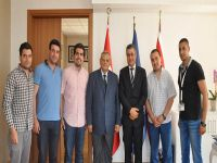DAÜ, Lübnanlı Milletvekilini ağırladı