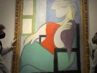 Picasso'nun tablosu, New York'taki açık artırmada 103,4 milyon dolara satıldı