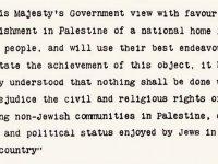 Balfour Deklarasyonu ve İsrail-Filistin Sorunu: İngiltere'nin 1917'deki bildirisi ve Orta Doğu'ya 67 kelimeyle bıraktığı sorunlu miras