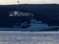Rus ve İngiliz savaş gemileri peş peşe Çanakkale Boğazı'ndan geçti