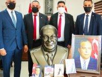 Bakan Amcaoğlu açıkladı: Antalya'daki Dokumapark'ta açılacak  kütüphanede KKTC Köşesi de bulunacak