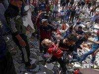 İsrail bakanlıkların bulunduğu El Vehda caddesini vurdu: 26 kişi yaşamını yitirdi
