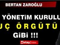 Bertan Zaroğlu Yine YDP'yi Hedef Aldı, Bu Kez De Suç Örgütü Dedi