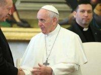 Türkiye Cumhurbaşkanı Erdoğan Papa Fransuva ile telefonda görüştü
