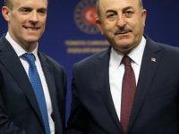 Türkiye Dışişleri Bakanı Çavuşoğlu, İngiliz Mevkidaşı Raab'la Görüştü