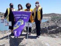 """Lefkoşa'daki Göletlere """"Çevreye Çöp Atmayınız"""" Levhaları Yerleştirildi"""