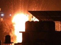 İsrail Gazze'de Direniş Güçlerine Ait Noktaları Vurdu