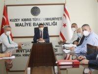 Maliye Bakanı Oğuz, Kamu İş Heyetiyle Toplu İş Sözleşmesi'ni Müzakere Etti