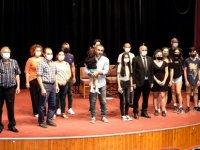 İskele Belediye Tiyatrosu, Bayrama özel şarkı ve şiir gecesi düzenledi