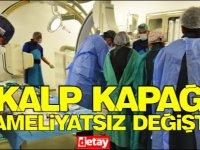 Ali Güvensoy'un kalp kapağı, Dr. Suat Günsel Girne Üniversitesi Hastanesi'nde ameliyatsız yöntemle değiştirildi