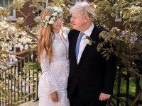 İngiltere Başbakanı Boris Johson ve Carrie Symonds Westminster Katedrali'nde evlendi