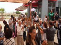 Hristofyas Mehmetçik'de doğum günü kutladı...