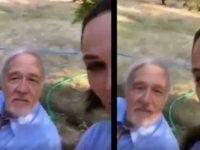 Hülya Avşar'dan İlber Ortaylı'ya: Ben gideceğim, arkamdan 'ne hoşmuş' diyeceksin, tamam mı? (VİDEO)