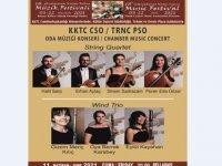 18. Kuzey Kıbrıs Müzik Festivali Kktc CSO Oda Müziği Konseri ile devam ediyor