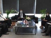 Girne Belediye Başkanı Güngördü, Türkiye Belediyeler Birliği Yetkilisini Kabul Etti