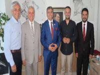 Dünya Sağlık Turizmi Komisyonu Başkanı Çakmak İrfan Günsel'i ziyaret etti...