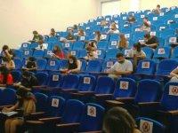KKTC'de en çok tercih edilen üniversite YDÜ giriş sınavına büyük ilgi