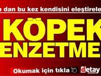 Başbakan yardımcısı  Arıklı bu kez kendisini eleştirenlere KÖPEK benzetmesi yaptı!