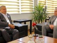 Sanayi Odası, Gazimağusa Belediye Başkanı Arter'i ziyaret etti