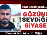Fırat Borak yazdı... Gözünü Sevdiğim Siyaset!