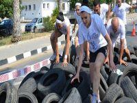 DAÜ'de nefes kesen emuathlon mücadelesi