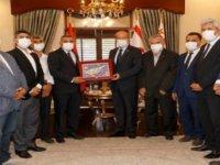 Cumhurbaşkanı Tatar Dernek ve Gönüllü Kuruluşlardan Oluşan Heyeti Kabul Etti
