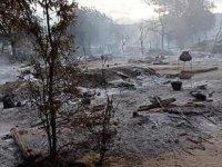 Myanmar'da Askeri Cuntanın Bir Köyü Tamamıyla Yaktığı İddia Edildi