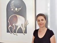 Resim sergisi, Dr. Suat Günsel Girne İlkokulu Sergi Salonunda ziyarete açıldı..
