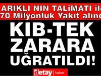 Şahiner: Arıklı'nın talimatıyla 70 milyon TL'lik yakıt alındı, KIB-TEK zarar uğratıldı!