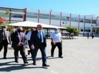 Eğitim Bakanı Amcaoğlu Girne'de Bazı Okullarda İncelemelerde Bulundu