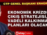 CTP Genel Başkanı Erhürman, İşad'ı Ziyaret Etti