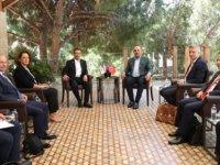 Ertuğruloğlu, Azerbaycan Dışişleri Bakanı Bayramov İle Görüştü