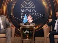Dışişleri Bakanı Ertuğruloğlu, Somali Dışişleri ve Uluslararası İşbirliği Bakanı İle Görüştü