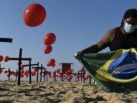 Brezilya'da Covid-19 Ölümleri 500 Bini Aştı