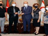 Cumhurbaşkanı Tatar FODER'İ Kabul Etti