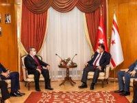 Başbakan Saner Trakya Üniversitesi Rektörü Tabakoğlu'nu Kabul Etti