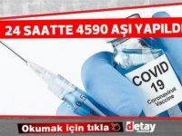 KKTC'de son 24 saatte toplam 4590 aşı yapıldığı açıklandı